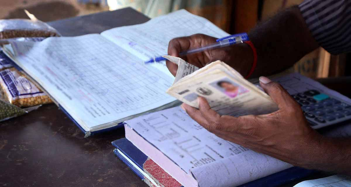 Ration Card ( Symbolic picture )